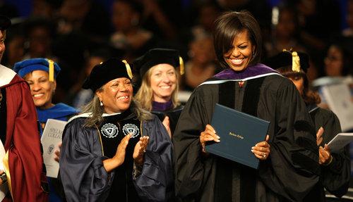 michelle obamas graduation speech at spelman college