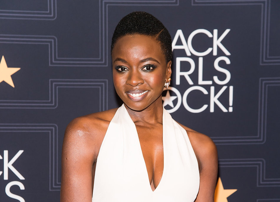 NEWARK, NEW JERSEY - APRIL 01: Actress and Star Power Award recipient Danai Gurira attends BET Black Girls Rock! 2016 at New Jersey Performing Arts Center on April 1, 2016 in Newark, New Jersey. (Photo by Gilbert Carrasquillo/FilmMagic)