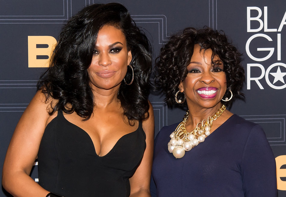 NEWARK, NEW JERSEY - APRIL 01: Black Girls Rock! Founder, Beverly Bond (L) and singer Gladys Knight attend BET Black Girls Rock! 2016 at New Jersey Performing Arts Center on April 1, 2016 in Newark, New Jersey. (Photo by Gilbert Carrasquillo/FilmMagic)