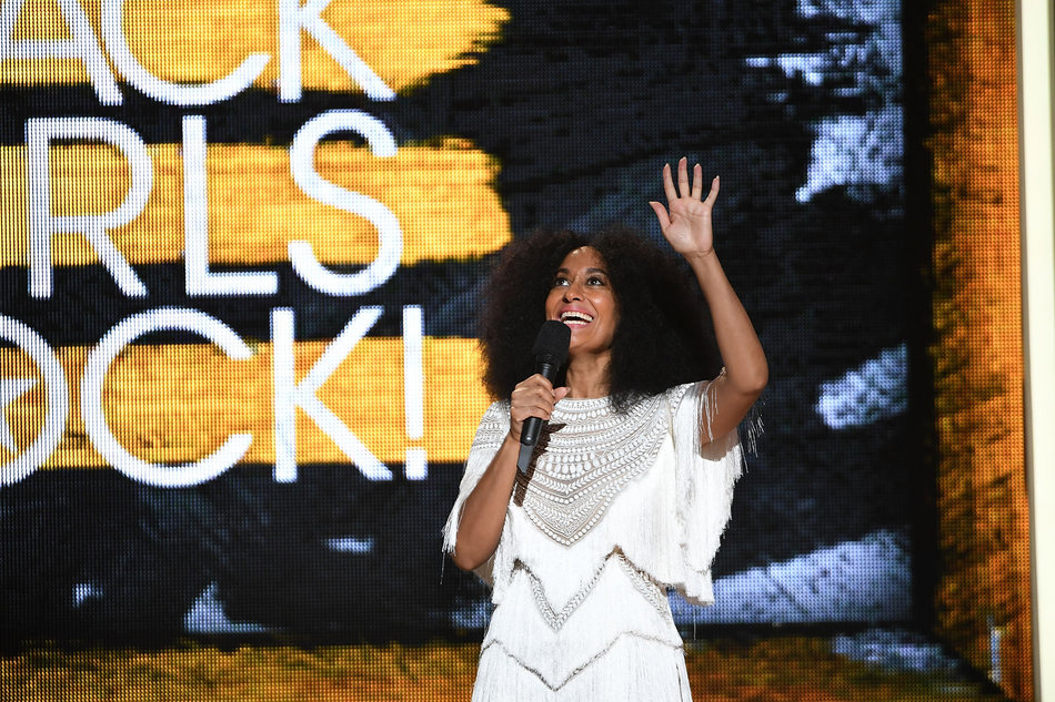 NEWARK, NEW JERSEY - APRIL 01: Tracee Ellis Ross onstage at Black Girls Rock! 2016 at New Jersey Performing Arts Center on April 1, 2016 in Newark, New Jersey. (Photo by Paras Griffin/WireImage)