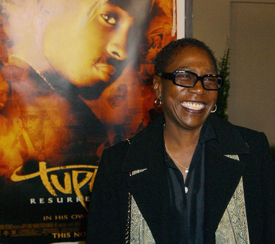 Afeni Shakur (Photo by Gregg DeGuire/WireImage)